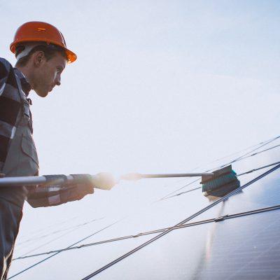 Solar module washing: Solar modules are not like windows