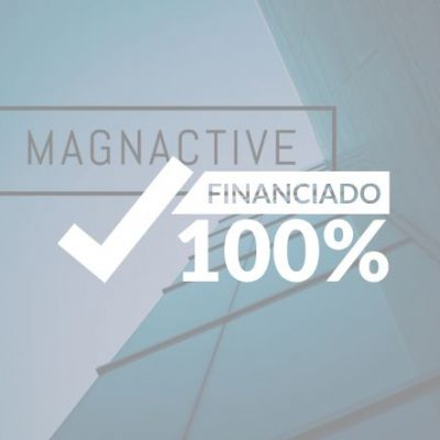 Magnactive 100% financiado!